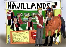 Havillands at the Equine event. by Louvan