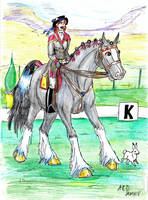 Traditional Dressage by Louvan