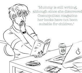 Mummy's latest book by Louvan