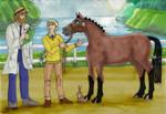 Pony Olympics Vet Check B by Louvan