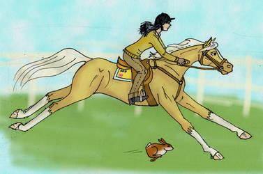 Ponyrace by Louvan