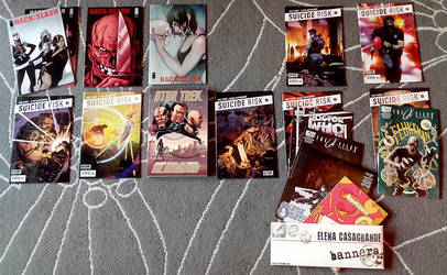 A year in comics -  my 2013 by elena-casagrande