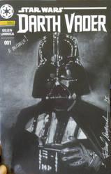 Darth Vader black cover commission by elena-casagrande