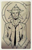 Constantine sketch by elena-casagrande