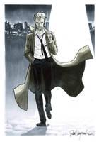 John Constantine sketch by elena-casagrande