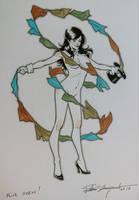 Hot Zatanna commission by elena-casagrande