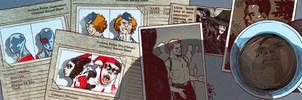 Suicide Squad banner for Blastoff Comics by elena-casagrande