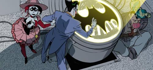 Halloween in Gotham by elena-casagrande