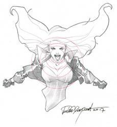 Black Canary by elena-casagrande