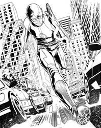 Arrow and Flash crossover comic by elena-casagrande