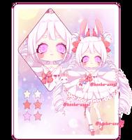 |Adoptable Auction| bunny kawaii #2|CLOSED | by Hosha-Usagi