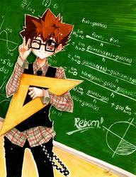 Tuna math teacher by Ichigo-OH