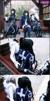 Behind Lenalee's back by SakuraCherry7