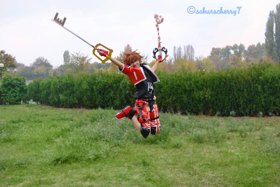 Sora Valor Form has High Jump by SakuraCherry7