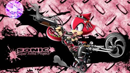 SonicSuperArmsProject Ekio by skyshek