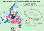 SonicSuperArmsProject  Chaos (DesignTest) by skyshek