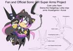SonicSuperArmsProject  Sirena(DesignTest) by skyshek