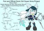 SonicSuperArmsProject Epsylis(DesignTest) by skyshek