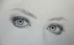 eyes of Amanda Seyfried by Zombieyue