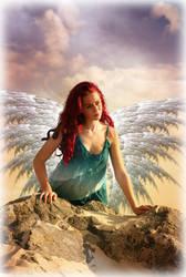 mountain angel by Ka-Kind