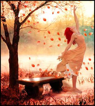 petal woman by Ka-Kind