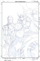 Avengers EMH 3 cover by PScherberger