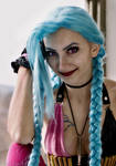 Jinx (League of Legends) cosplay by MartyCos-Art