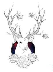 Deer by KailiStark