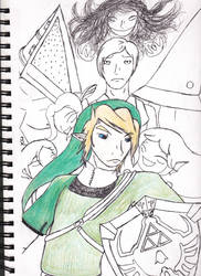 Silent Hyrule WIP by EpicHiroTheFixer