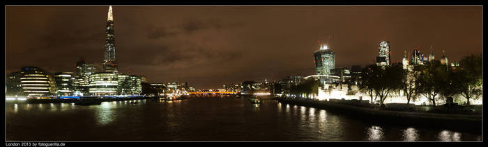 Panorma London by fotoguerilla