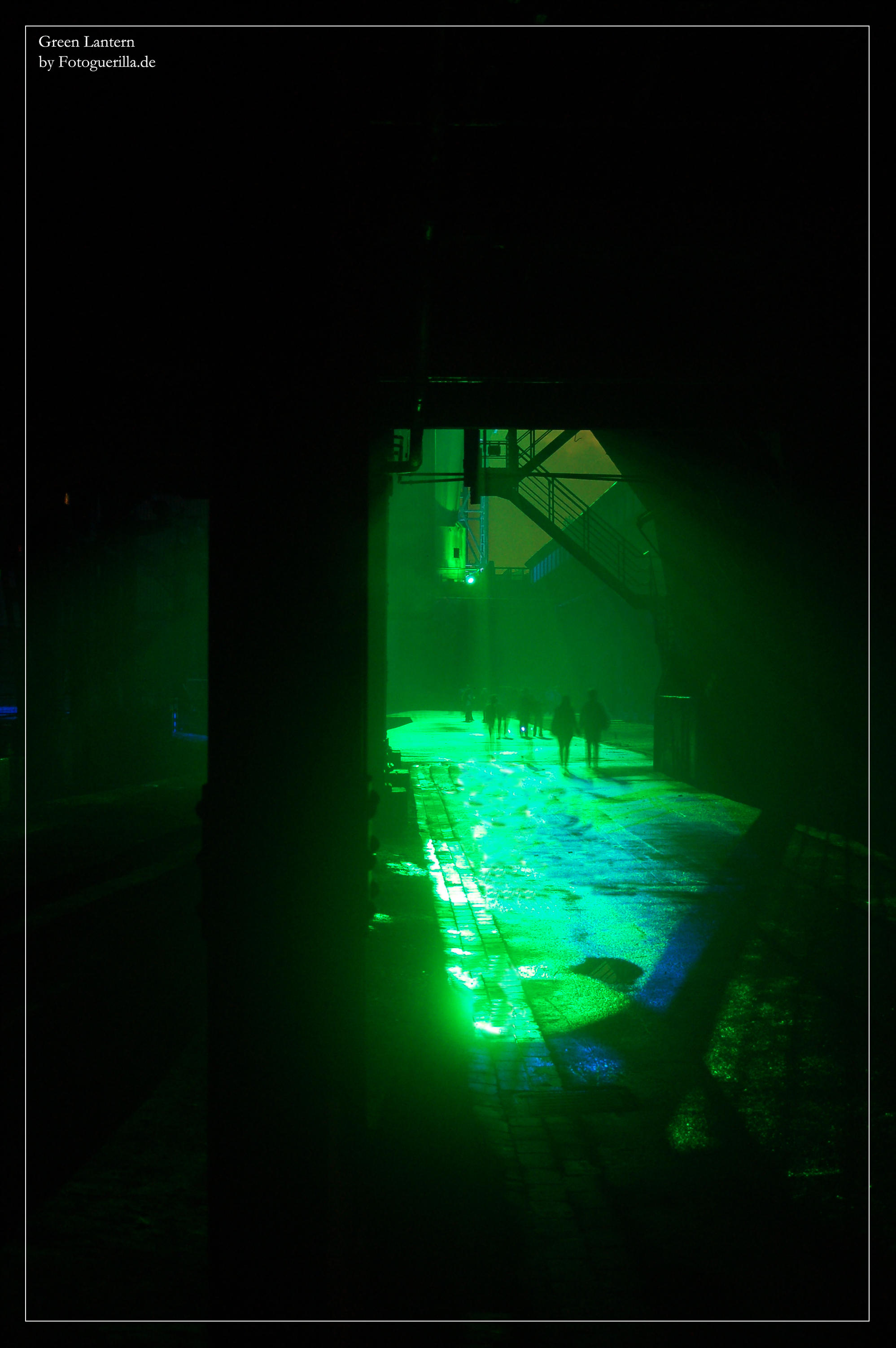 Green Lantern by fotoguerilla