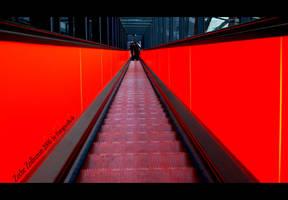 Rolltreppe Zeche Zollverein by fotoguerilla