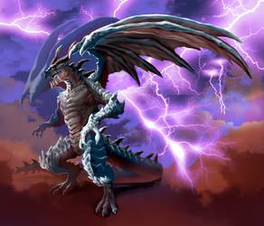 Thunderclap Dragon by Haepo-Heidi