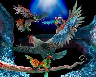 Birds by Haepo-Heidi