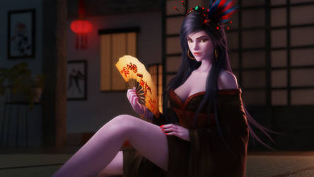 Widowmaker - Lunar Event Special by hicky22