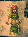 Sketchbook page by Pokoa