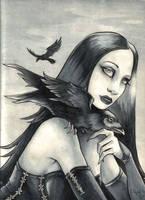 Helleana et ses corbeaus by Pokoa