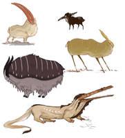 Bunch o' Beasts by Nhaar