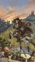The Lady of Shalott by Nhaar