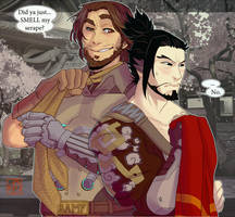 McHanzo - Just a sniff by Dedmerath