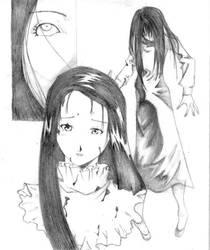 Sadako for Yomz by Cklaighe