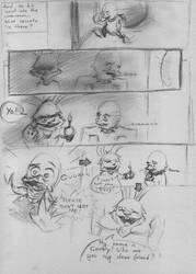 Angry Ducky page 10 WIP by ZlatkaS
