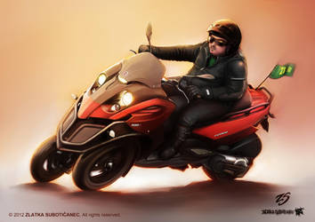 Mr cool guy by ZlatkaS