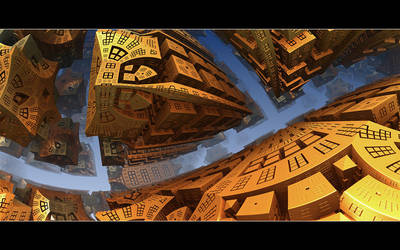 The Golden Corridor by GrungeTV