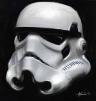 Stormtrooper Study by GrungeTV