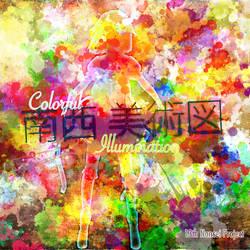 Colorful Illumination Jewel Case by Kizune-Chao
