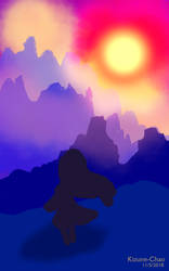 Sunset by Kizune-Chao