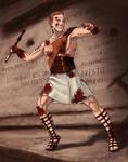 Dart: Roman Vigilante by shellpresto