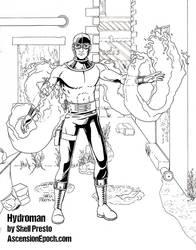 Hydroman inks by shellpresto