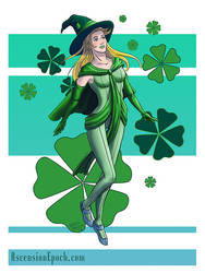 Emerald and Clover by shellpresto